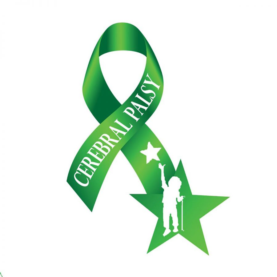 Green is the color for Cerebral Palsy Awareness. Go green for CP.