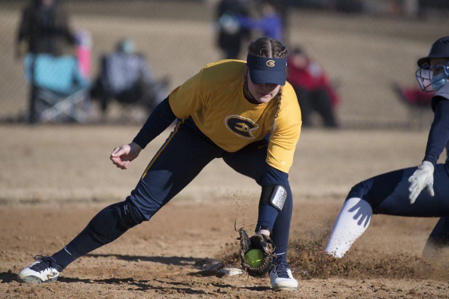 The UW-Eau Claire women's softball team opened the Wisconsin Intercollegiate Athletic Conference season last week.