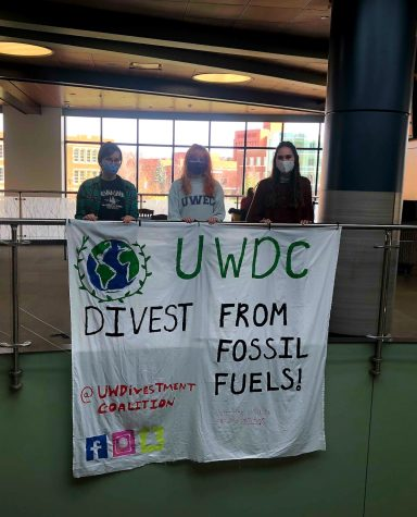 Divestment is the opposite of investment. It is the act of removing any financial investments made towards an unethical industry — in this case, from the fossil fuel industry.