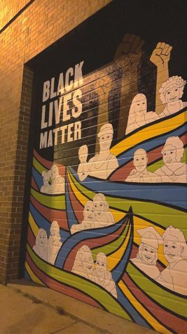 The death of George Floyd sparked a national Black Lives Matter movement.