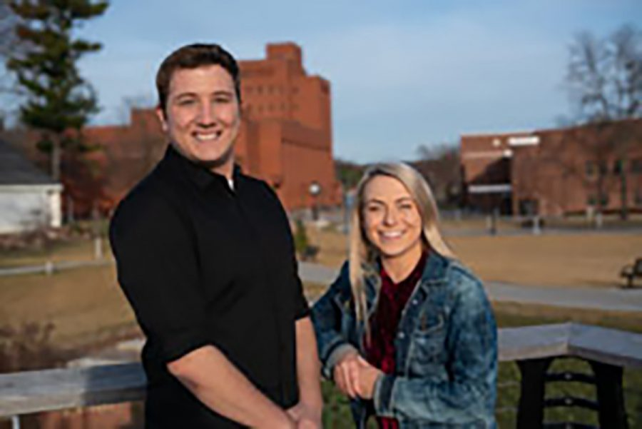 Jaden Mikoulinskii and Justin Schilling are the new student body president and vice president.