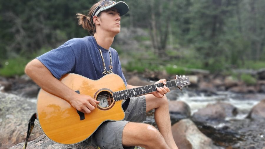 Whether it's original Americana, blues, rock or something else, Sage Leary, a fourth-year communications student, said he wants to spread joy through music.