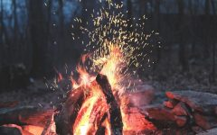 Everyday life has no place in the woods in front of a warm fire.