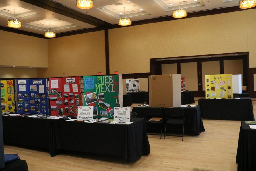 Students can learn more information about the study abroad program and the countries they can stay at.