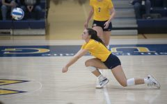 The UW-Eau Claire volleyball team continued their winning streak on the road against St. Scholastica.