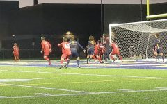 The Blugold men's soccer team remains undefeated at Simpson Field.