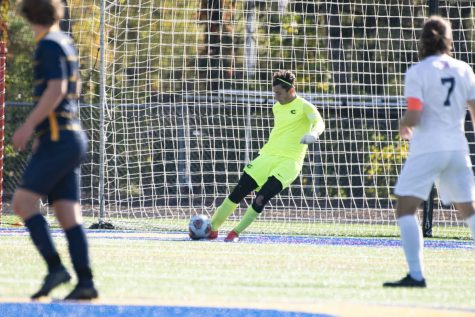 UW-Eau Claire suffered a 4-0 loss to Carthage College after their overtime win the day before.