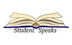 Student speaks
