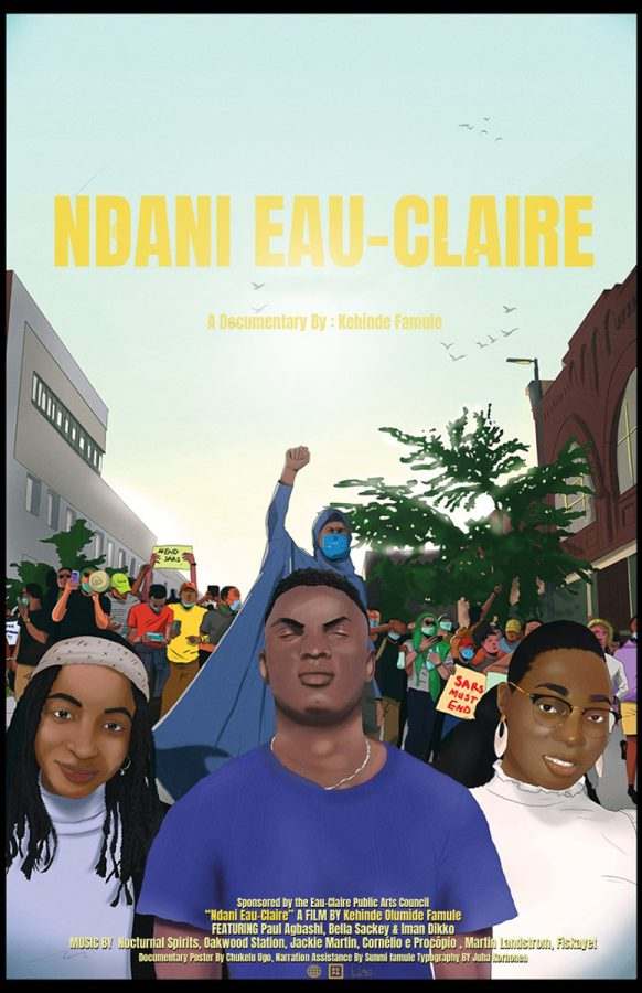 """""""Ndnai Eau-Claire"""" features three African American students and their experiences living in the Chippewa Valley at UW-Eau Claire."""